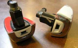 Замена форсунок омывателя