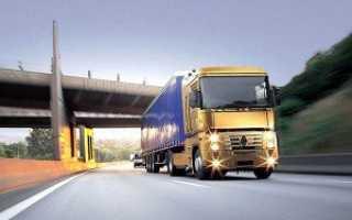 Контейнерные перевозки грузов с использованием автомобилей