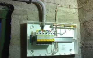 Нюансы монтажа проводки в гараже