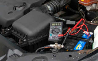 Как проверить щетки генератора мультиметром