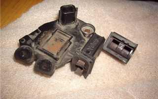 Замена щеток генератора рено логан