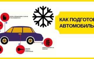 Что вам нужно переоборудовать в машине до зимы?