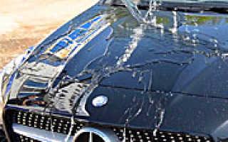Обработка кузова автомобиля жидким стеклом