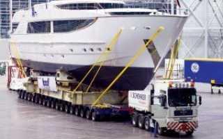 Особенности транспортировки негабаритных грузов
