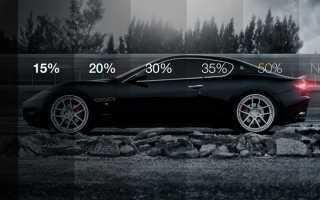 Тонировка стекол автомобиля, выбор тонировки