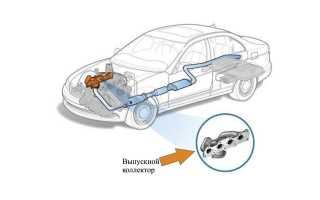 Особенности ремонта и замены выпускного коллектора авто