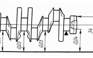 Как проверить коленчатый вал на наличие дефектов?