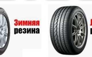 Основное отличие зимних шин от летних