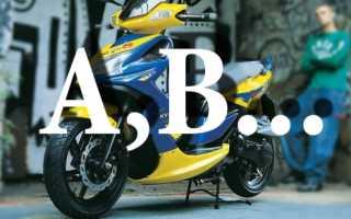 Какой транспорт можно водить с правами категории b?
