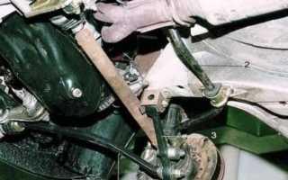 Ремонт передней подвески ваз 2110