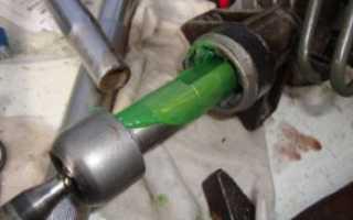 Как смазать рулевую рейку