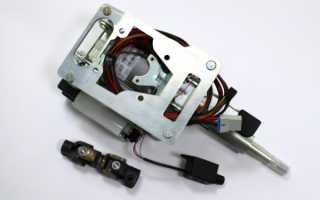 Ваз-2110: установка электроусилителя руля от приоры.