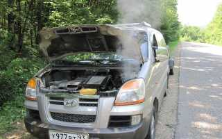 Последствия и причина гидроудара двигателя