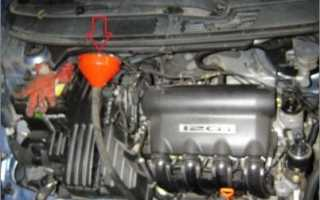 Уровень масла в вариаторе хонда фит