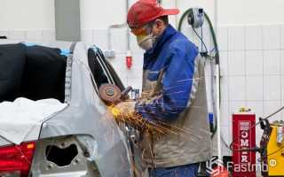 Основные приемы проведения кузовного ремонт