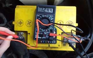 Какой должен быть заряд аккумулятора автомобиля